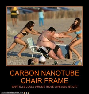 CARBON NANOTUBE CHAIR FRAME
