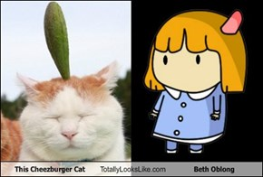 This Cheezburger Cat Totally Looks Like Beth Oblong