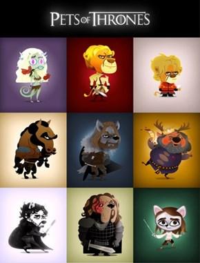 Pets of Thrones
