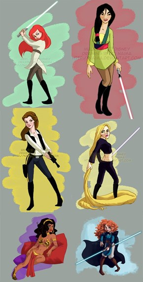 Star Wars Princesses