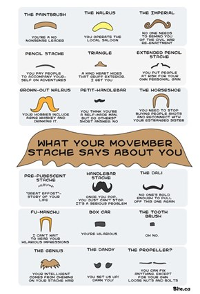 What Your Movember Stache Says About You