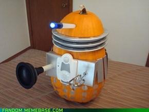 Dalek-o-Lantern