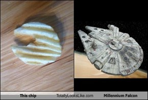 This chip Totally Looks Like Millennium Falcon