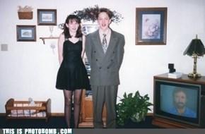 Photobomb lvl Chuck Norris