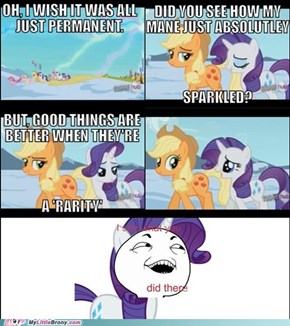 I see what you did there AppleJack