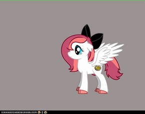 Awesome pony- y u not part of MLP:FIM??!!