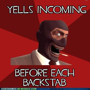 DAMN SPIES!