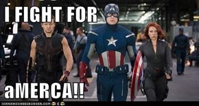 I FIGHT FOR  aMERCA!!