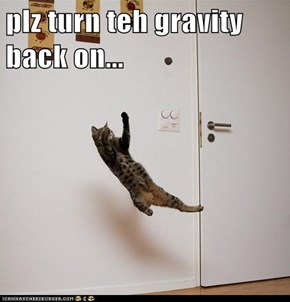 plz turn teh gravity back on...