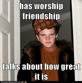 has worship friendship  talks about how great it is