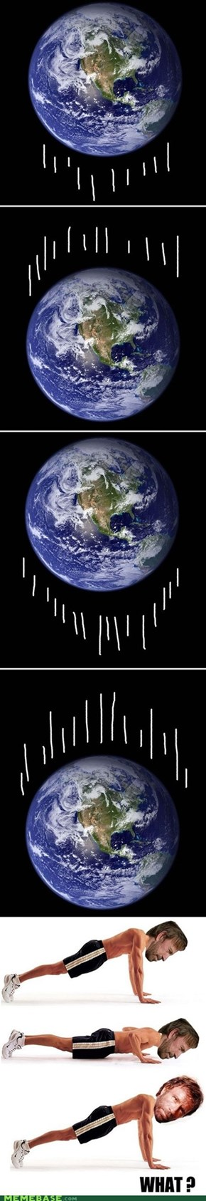 Why is the earth moving ?