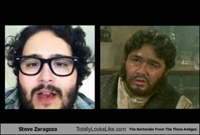 Steve Zaragoza Totally Looks Like The Bartender From The Three Amigos