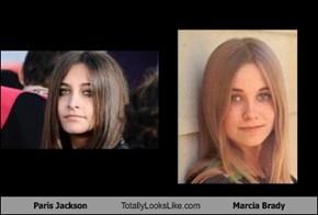 Paris Jackson Totally Looks Like Marcia Brady