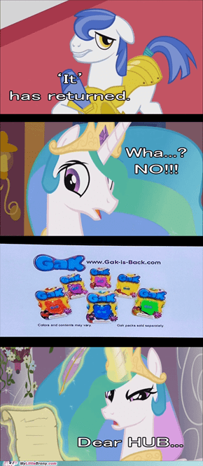 Celestia didn't like it either