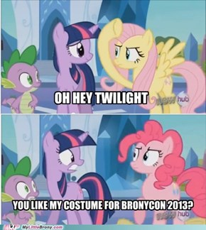 Pinkie Pie has the best costumes...wonder what she wore to Nightmare Night this year?