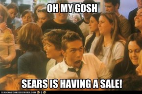 SEARS IS HAVING A SALE!