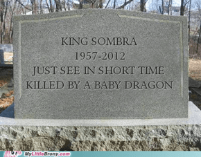 King Sombra Funeral