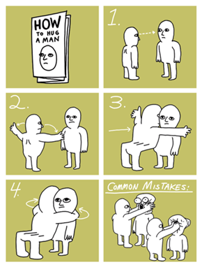How to Hug Your Fellow Man