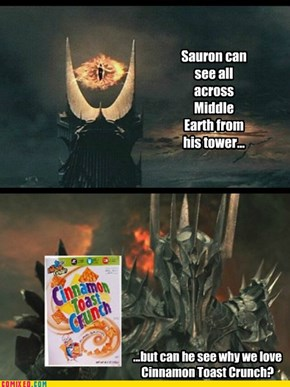 One Breakfast Cereal to Rule Them All...