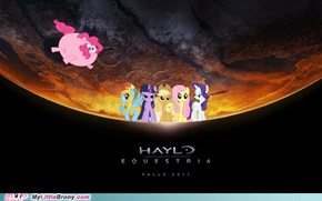 Halo: saving Equestria from the parasprites