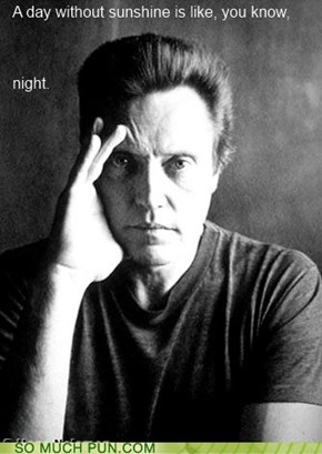 Walken On Sunshine