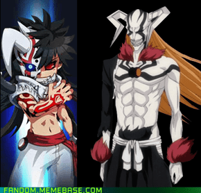 Rumble Fighters ripped off Bleach