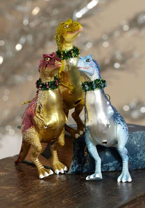 Trim the Tree With Dinosaurs