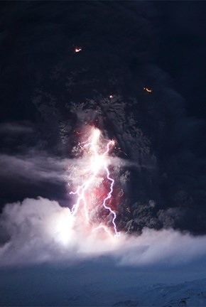 The Mighty Eyjafjallajökull Erupting