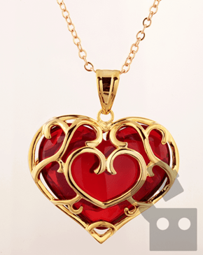 Skyward Heart Necklace