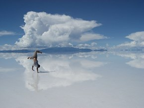 The Clear Reflections of Salar de Uyuni