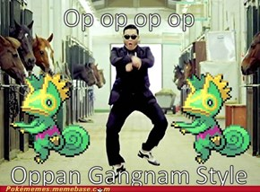 Kecleon used Gangnam Style!