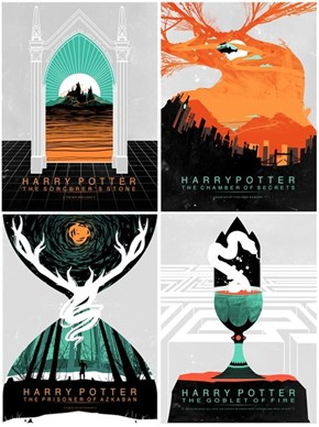 Amazing Harry Potter Covers