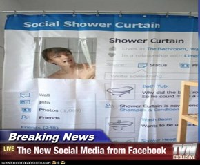 Breaking News - The New Social Media from Facebook