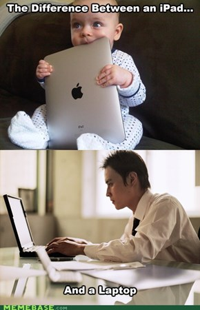iPad is for Babies