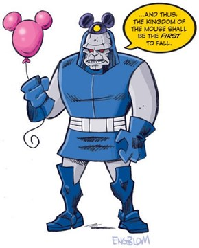 Sad, Sad Darkseid