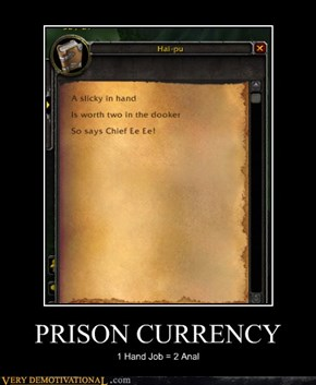 PRISON CURRENCY