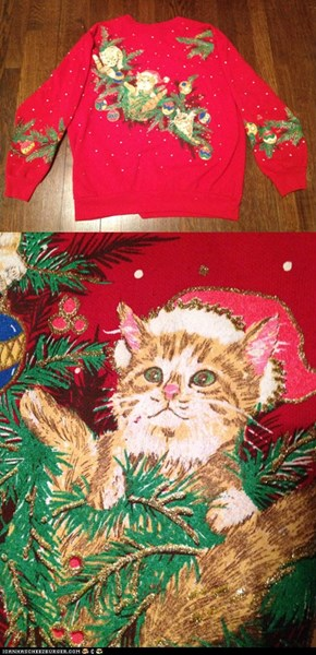 Purrfect Christmas Sweater