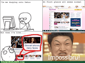 Many Faces? Impossibru!