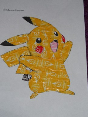 Pikachu, I Chews You!