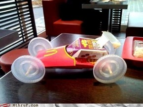 Bored at McDonalds?