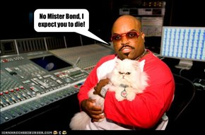 Cee Lo in the next Bond Movie