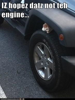 IZ hopez datz not teh engine...