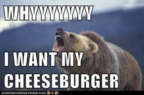 WHYYYYYYY  I WANT MY CHEESEBURGER
