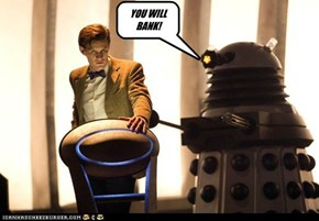 The Doctor and a Dalek on Weakest Link