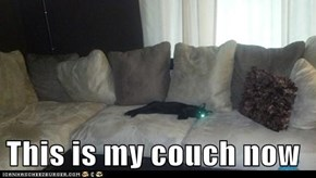 This is my couch now