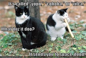 "It's called ""yopo,"" ""cohoba,"" or ""vilca."" What duz it doo? It sends you to space, dood!"