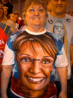 Please, Sarah Palin T-Shirt! Don't Eat Me!