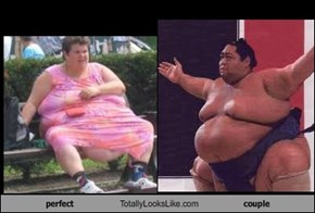 perfect Totally Looks Like couple