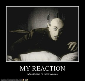 MY REACTION