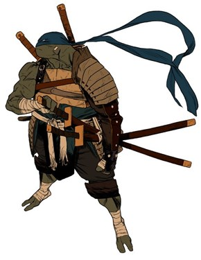 A Turtle and Samurai